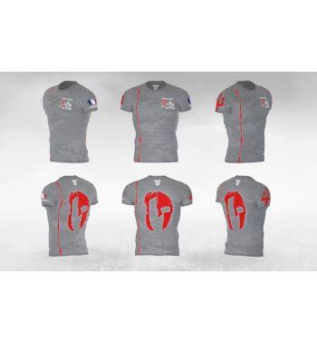 Tee-shirt unisexe gris